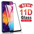 Защитное стекло, закаленное стекло 11D для Samsung Galaxy A01 Core A11 A21 A31 A41 A51 A71 M11 M21 M31 M51 A12 A42