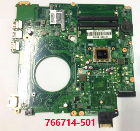 SHELI For Hp 15-P 15-F 17-F Laptop Motherboard 766714-501 766714-601 766714-001 DAY23AMB6F0 A10-5745M Notebook Pc  Mainboard