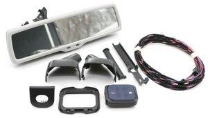 Image 2 - רכב מראה אחורית אוטומטי פנס מתג + גשם אור מגב חיישן + נגד בוהק מראה אחורית פולקסווגן גולף MK6 Tiguan Jetta 5