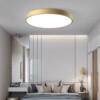 Minimalism Round Led Chandeliers For Livingroom Bedroom Kitchen Lustre Led Metal Nordic Modern Chandelier Lighting Lampara Techo