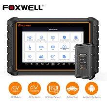 Foxwell gt65 ferramenta de diagnóstico do carro sistema completo obd2 diagnóstico airbag tpms epb dpf redefinir obd2 scanner frete grátis