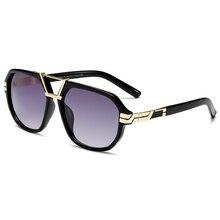 Brand Design Men Sunglasses Vintage Square Glasses Male Fash