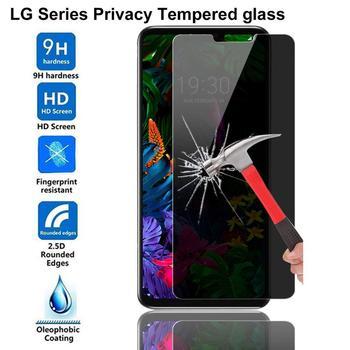 9H защита экрана конфиденциальности для LG G3 G4 G5 G6 Q7 Q6 G7 G8 Thinq антибликовое закаленное стекло для LG V10 V20 V30 V40 антишпионское стекло