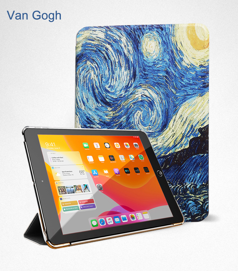 Leather Flip 2020 Wake PU Cover Case For Trifold Stand 10.9 Smart Full iPad Auto Air