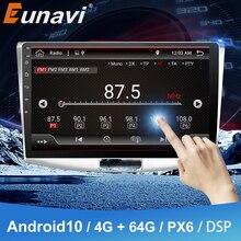 Eunavi 2 Din Android Car Radio For VW Volkswagen Passat B6 2012 2016 MAGOTAN CC Multimedia Player Head unit Audio Stereo DSP GPS