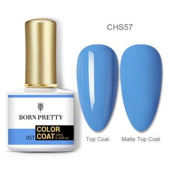 BORN PRETTY Nail Gel 120Colors 10ml Gel Nail Polish Soak Off UV LED Gel Varnish Holographics Shining Nagel Kunst Gellack 134