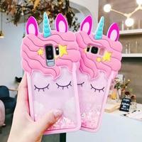 Unicornio teléfono caso para Samsung Galaxy S10 Lite S9 más S8 Nota 9 8 J7 primer J4 J6 J8 J2 Pro 2018 J5 2017 A10 A20 A30 A40 A50 M20