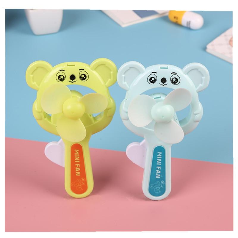 Creative Mini Cute Fan Usb Handheld Large Wind Mute Student Small Fan Silent Summer Portable Small Fan