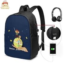 The Little Prince Backpack The Little Prince Backpacks Multi Pocket Trending Bag University Teenage Bags the prince