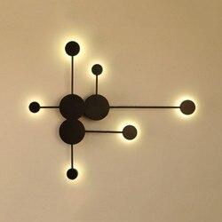 4-24w led dekoracja lampy ścienne łóżko boczne lampa do sypialni loft kinkiet światło w nowoczesnym stylu kinkiety do domu dekoracji