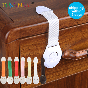 TUSUNNY 10Pcs/Lot Protection Against Children Locking Doors For Children's Safety Kids baby Safety lock