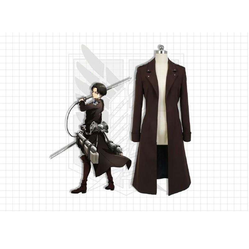 Anime Trench Coat Cosplay Costume Allen Captain