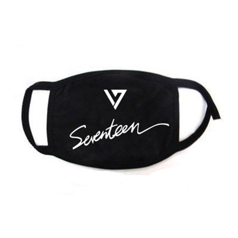 Seventeen New Album YOU MAKE MY DAY Face Mask Dustproof Outdoor Sunscreen S.COUPS JOSHUA JUN THE8 LJJ256