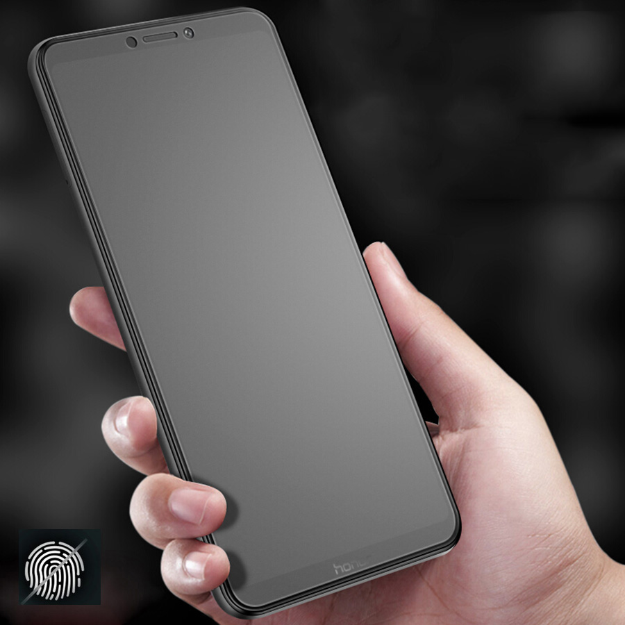 No Fingerprint Matte Frosted Tempered Glass For Huawei Honor 9X 8X V20 Mate 10 20 P20 Pro P Smart Plus Nova 3i Screen Protector