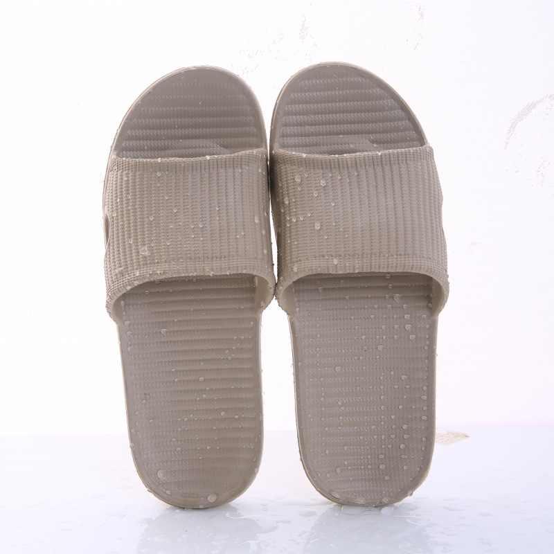 חדש נשים מקורה רצפת שטוח נעלי קיץ החלקה כפכפים אמבטיה נעלי בית נשי נעל נוח Zapatillas דה hombre