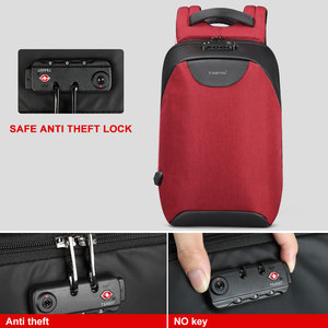 Image 4 - Tigernu Women Anti Theft TSA Lock female Laptop Backpack USB Charge School Bag for Teenager girls Feminine Backpacks luggage Bag