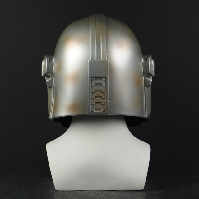 Star Wars Helmet The Mandalorian Helmet Mask Hard PVC Cosplay Mandalorian Soldier Warrior Helmets Masks Adult Star Wars Prop 1