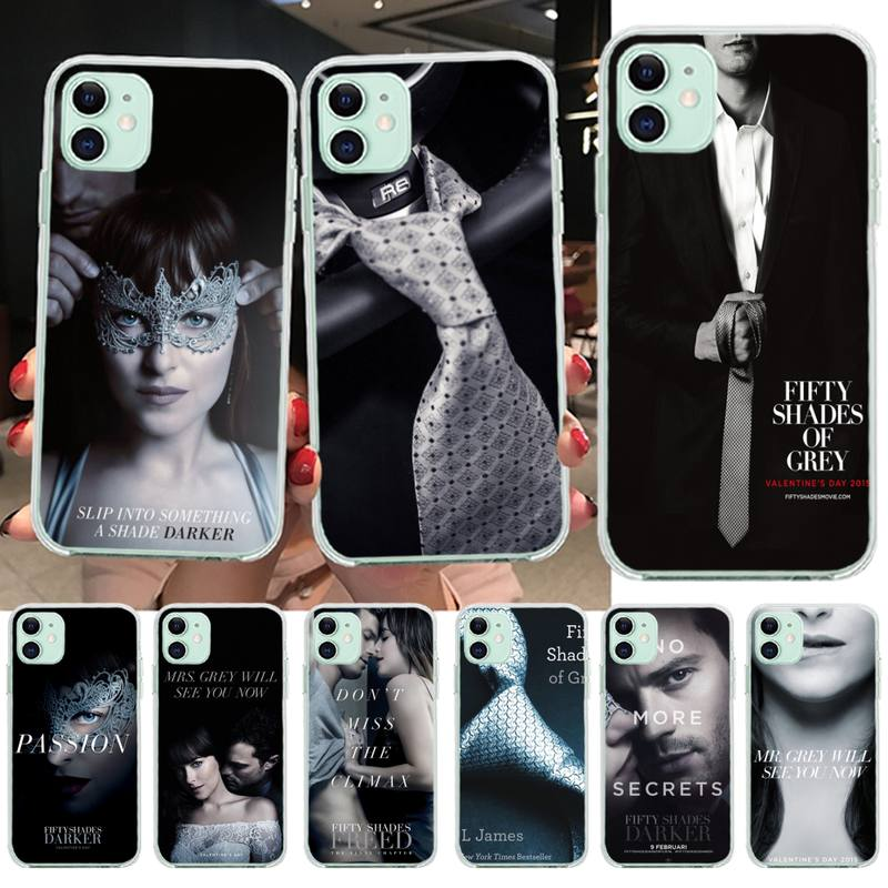 <font><b>50</b></font> Fifty <font><b>Shades</b></font> <font><b>Of</b></font> <font><b>Grey</b></font> <font><b>Sex</b></font> TV Phone Case Cover for iPhone 11 pro XS MAX 8 7 6 6S Plus X 5S SE 2020 XR cover image