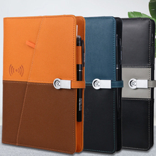 Power-Supply Charging-Notebook Smart-Notepad Business-Loose-Leaf-Notebook Advanced 8000mah