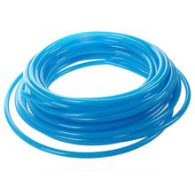 HOT-10M 32.8Ft 6mm x 4mm neumático poliuretano PU tubo azul(China)