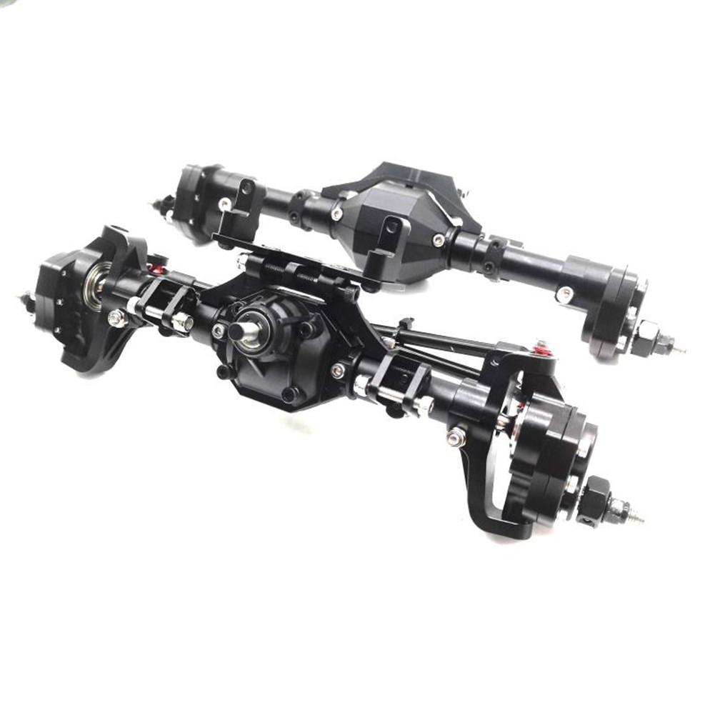 Metal Front Rear Portal Axles For 1/10 RC Crawler Axial-SCX10 90046 90047 Car Delicate RC Car Parts RC Car Accessories