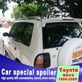 Для Toyota RAV4 1995-2000 пробивая установка высокого качества ABS Lamped спойлер автомобильные DIY краски аксессуары спойлеры