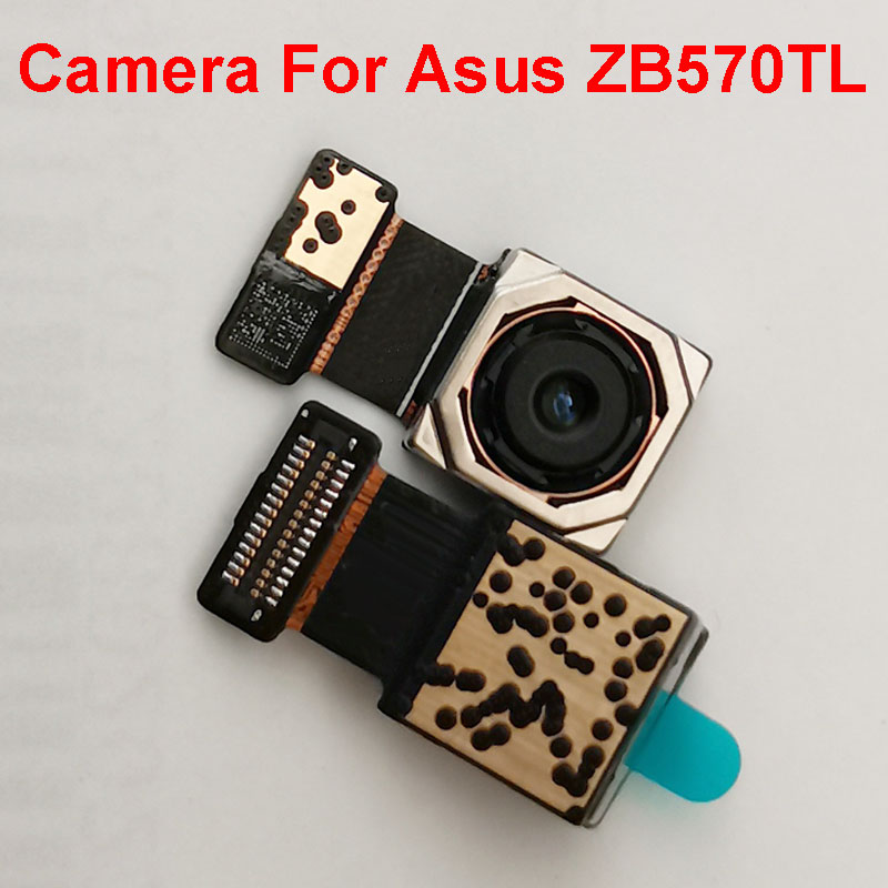 Back Rear Camera Module For Asus ZenFone Pegasus 4S Max Plus X018DC ZB570TL Main Big Camera Replacement Parts