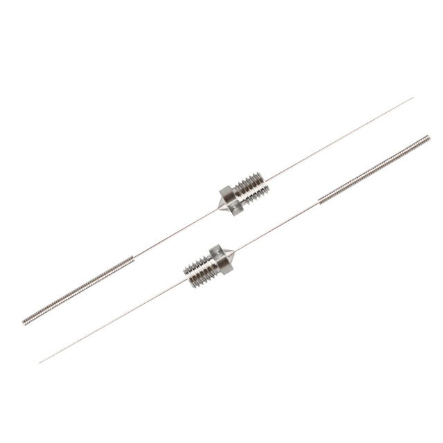 5Pcs Stainless Steel Cleaning Needle 0.15mm 0.2mm 0.25mm 0.3mm 0.35mm 0.4mm Part Drill For V6 Nozzle 3D Printers Parts 2