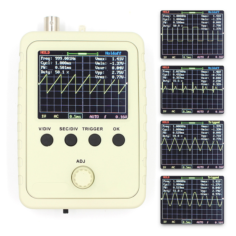 Fully Assembled DSO FNIRSI-150 15001K DIY Digital Oscilloscope Kit With Housing Case Box Free Shipping