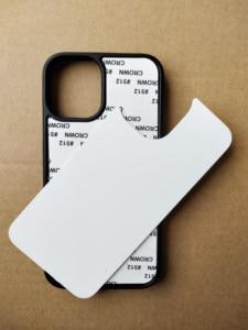 Image 5 - Для iPhone 12 5,4 дюймов 11 pro Max 5S SE 6 6S 7 8plus 2d Резиновый ТПУ чехол с сублимационной печатью + алюминиевая пластина 5 шт./лот