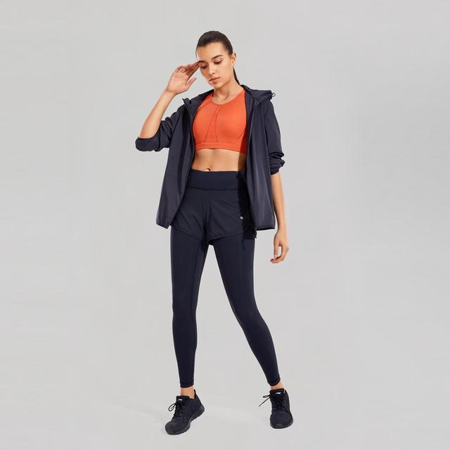 Luxury Mid-Rise 2 in 1 Tight Sports Jogging