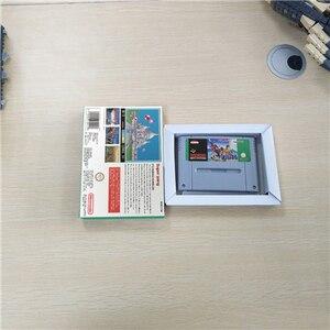 Image 2 - Süper pong EUR sürümü aksiyon oyun kartı perakende kutusu ile