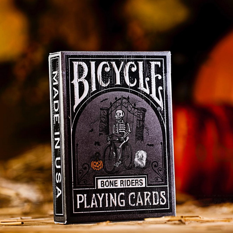 Hui qi Poker Bicycle Bone Riders Halloween Skeleton Rider DD Produced Import Playing Cards