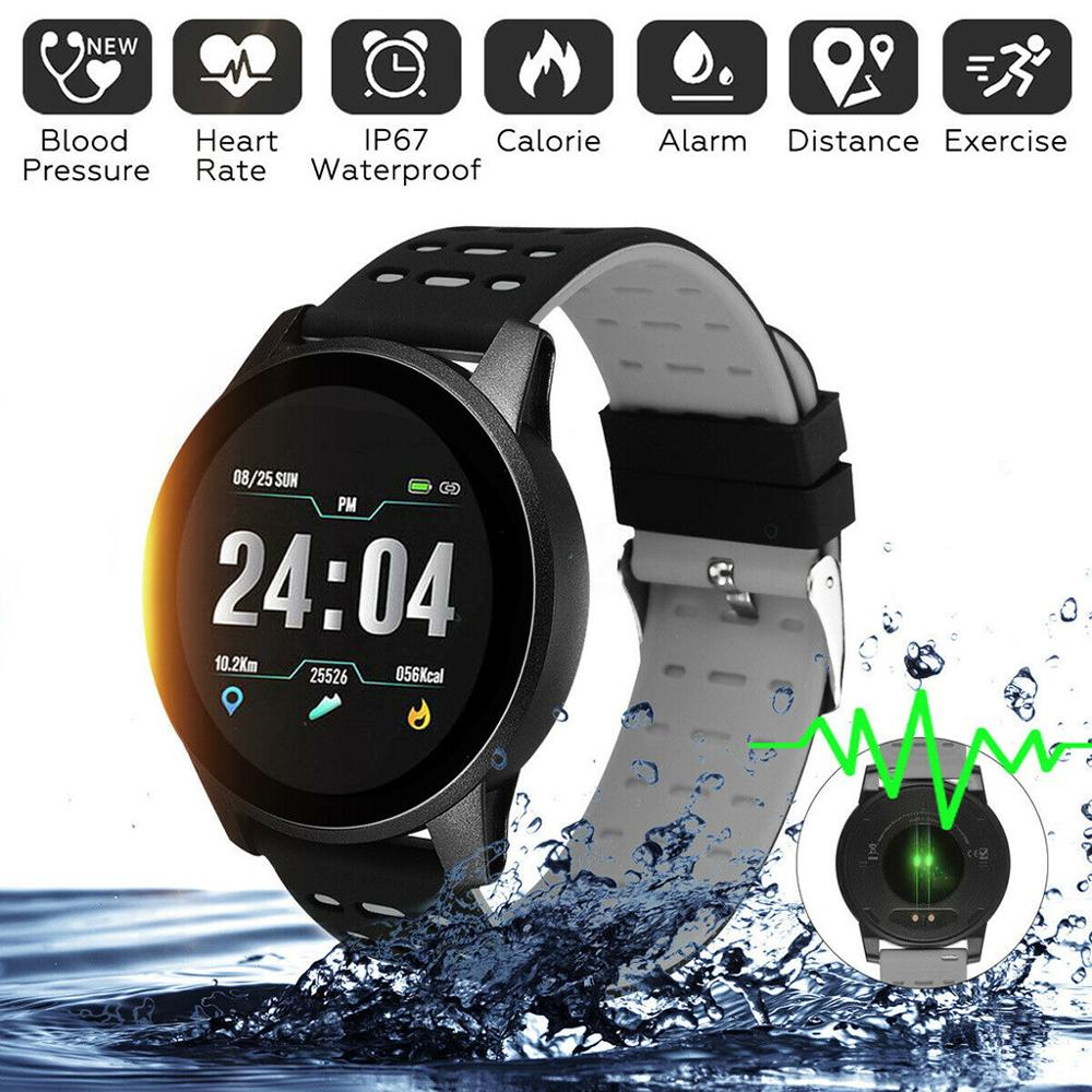 IP67 Waterproof 119Plus Smart Bracelet Watch Heart Rate Smart Watch Wristband Sports Watches Band Smartwatch For Android IOS A2 1