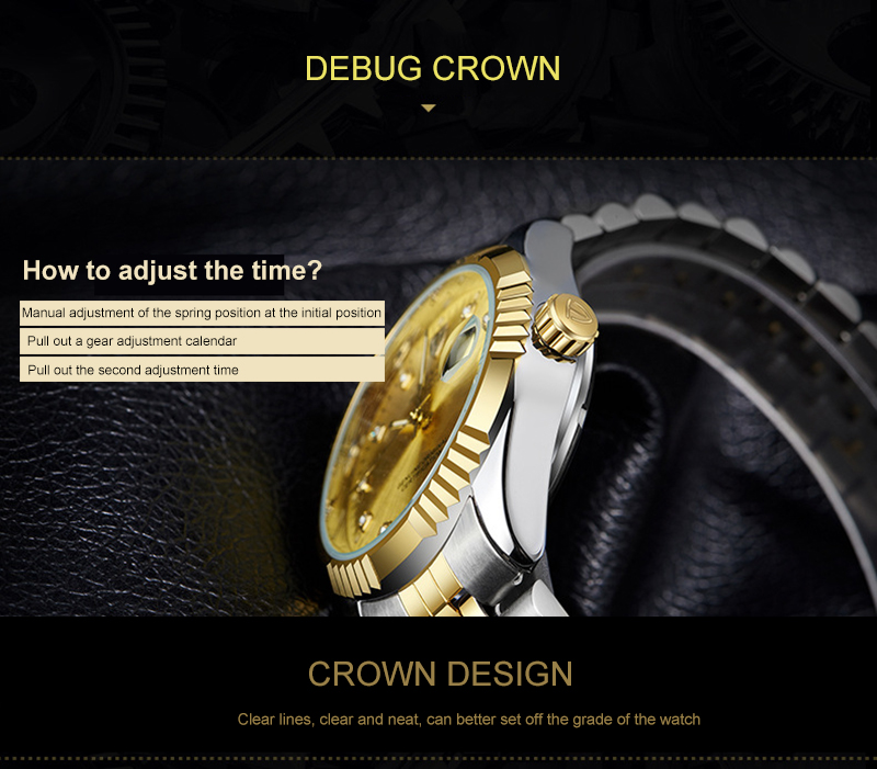 H450d7c2b609041a88075c5309301bbd46 TEVISE Mens Watch Fashion Luxury Wristwatch Waterproof Semi-automatic Mechanical Watch Luminous Sport Casual relogio Watch