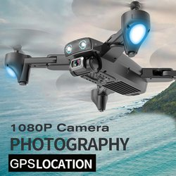 S167 2.4G/5G WIFI FPV 720P/1080P HD Camera GPS 120 Degree Wide-angle Drone Foldable RC Four-axis Aircraft with Battery
