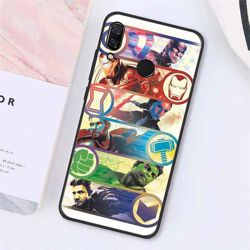 Maiyaca vengadores final Marvel Comics funda de teléfono para Xiaomi Redmi4X 6A S2 ir Redmi 5 5Plus Note4 Note5 7 Note6Pro 8T