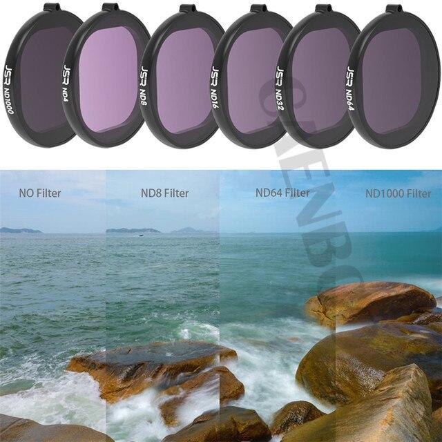 Для Gopro Hero 8 черный водонепроницаемый чехол фильтр Корпус для дайвинга аксессуары UV/CPL/Color/ND фильтры для Go Pro Hero8 оригинальные чехлы