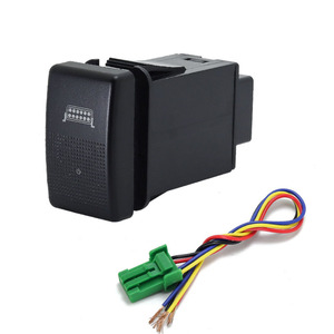 Image 5 - 1PC fan speaker Front Fog Light Rearview mirror folding Driving recorder radar Switch Button For Mazda 5