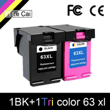 HTL 63XL remanufactured ink cartridge for hp 63xl compatible HP 1110 2130 3630 3830 4520 4650 CH561ZZ CB564Z