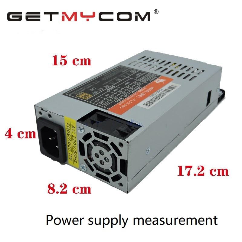 Getmycom Оригинальный Новый ATX 12V S3 K39 K35 M41 M24 PSU для SpeedCruiser поддержка GPU FLEX NAS маленький 1U Номинальный 500W Пик 600W