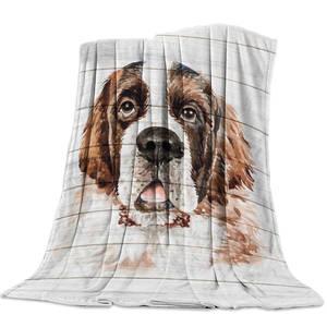 1Tee Mens St Bernard Dog Breed Colourful Retro T-Shirt