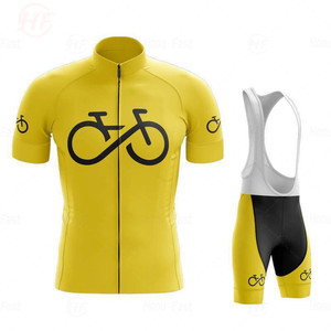 2020 New World Champion Spain Summer Men Cycling Jersey Short Set MTB Bicycle Cycling Clothing Bike Suit Maillot Ropa Ciclismo
