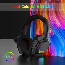 Camouflage PS4 Gioco 4 Pro Auricolare Bass Gaming USB Cuffie Casque con Microfono per Xbox One per PC Del Telefono Moible