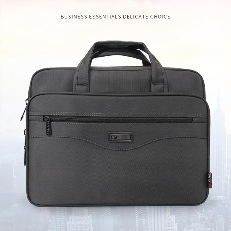High Quality Women Briefcase Laptop Bags Men Multifunction Waterproof 15.6