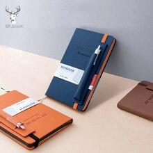 Planificador de oficina de cuero PU, cuaderno de papelería escolar, suministros 2020, organizador de Agenda, bolígrafo, bolsa de inserción, cuaderno