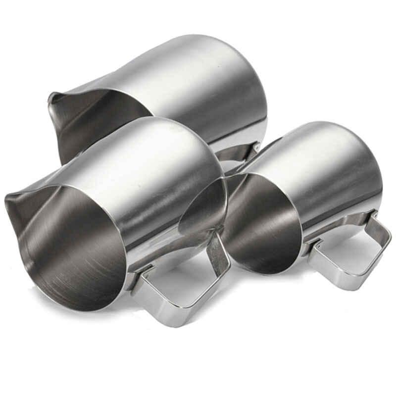 ครัวหัตถกรรมเอสเปรสโซ 350ML สแตนเลสสตีลกาแฟ Frothing นมเหยือก Latte TR