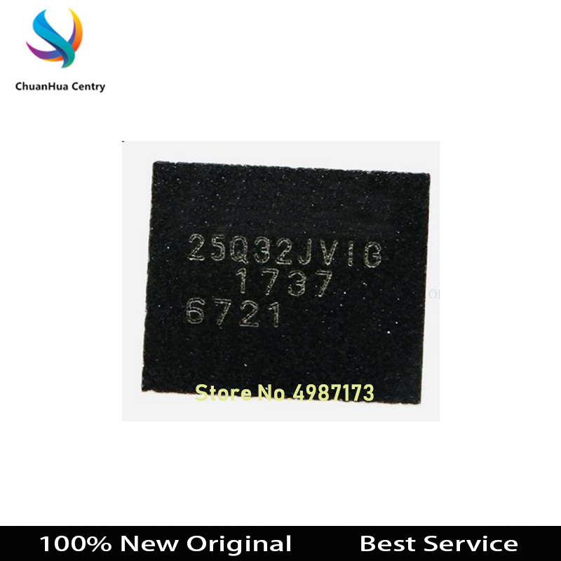 1 Pcs W25Q32JVZPIG WSON8 32MB 100% New Original 25Q32JVIG In Stock Bigger Discount For The More Quantity