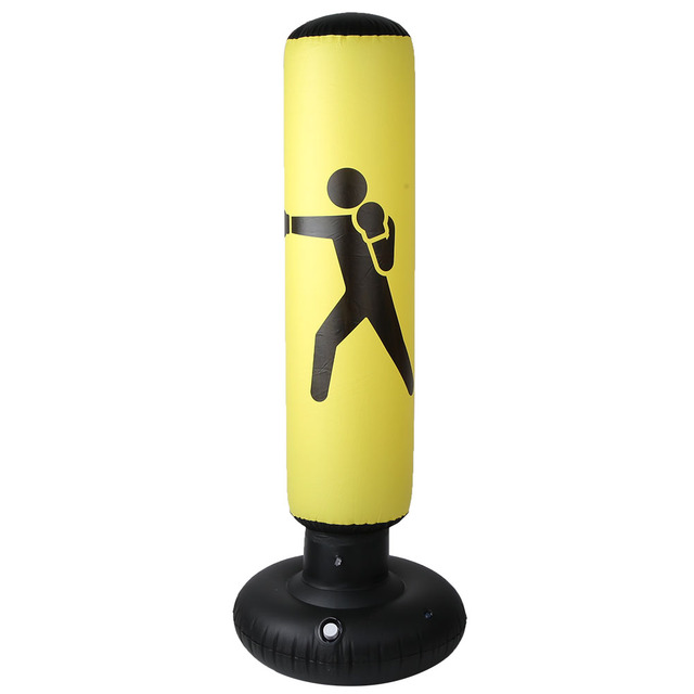 160 cm de Altura PVC Fitness Hit Sandbag Adultos Ni/ños Saco de Arena de Columna Inflable Saco de Arena Vikye Saco de Arena Inflable de Boxeo