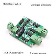 Mos Drive 12/24v 7a 160w Dual Dc Motor Drive Module/Board H Bridge L298 Logic